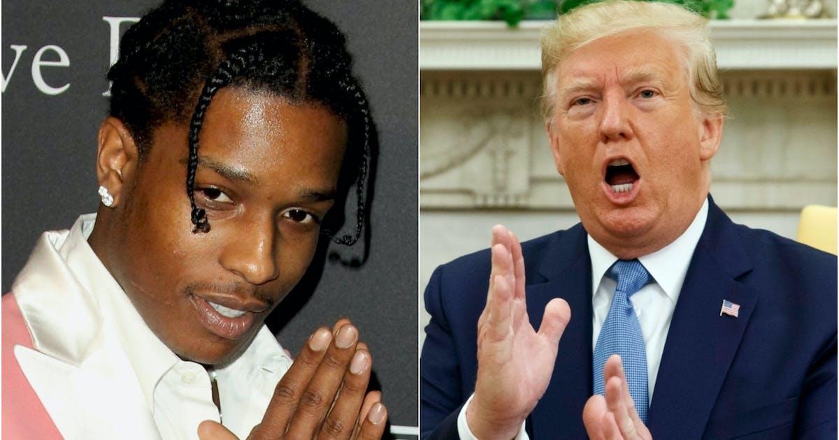 Der Präsident und der Rapper – Trump geht auf Schweden los