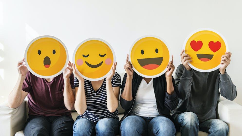Man kuss auf smiley was einen antworten kann WhatsApp Spiel