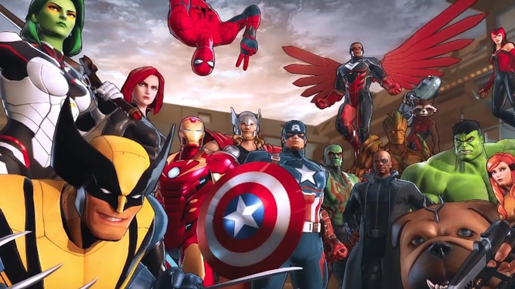 Superhelden Marvel