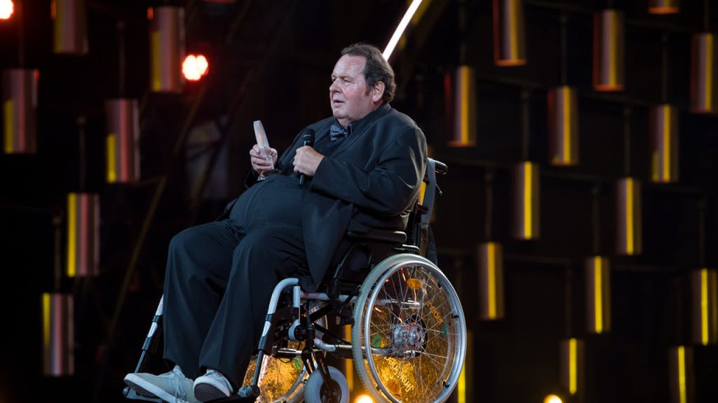Ottfried Fischer Rollstuhl