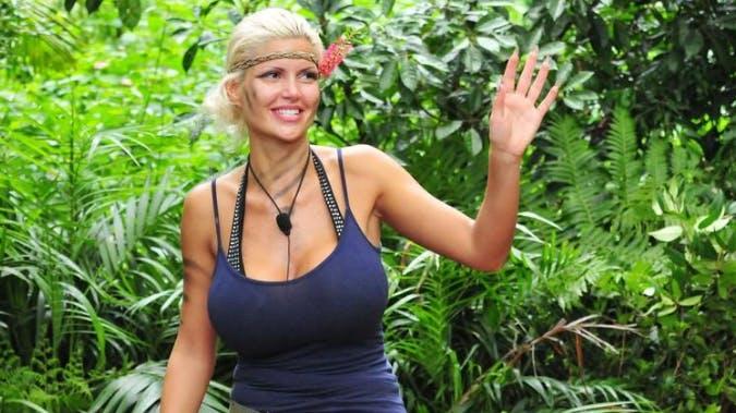 2016: Model Sophia Wollersheim: «Urlaub ist das hier nicht, das ist das Dschungelcamp».