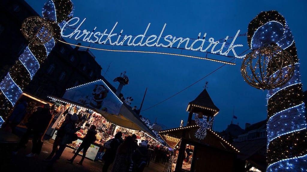 Strassburger Weihnachtsmarkt