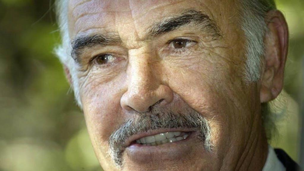 Sean Connery Tot