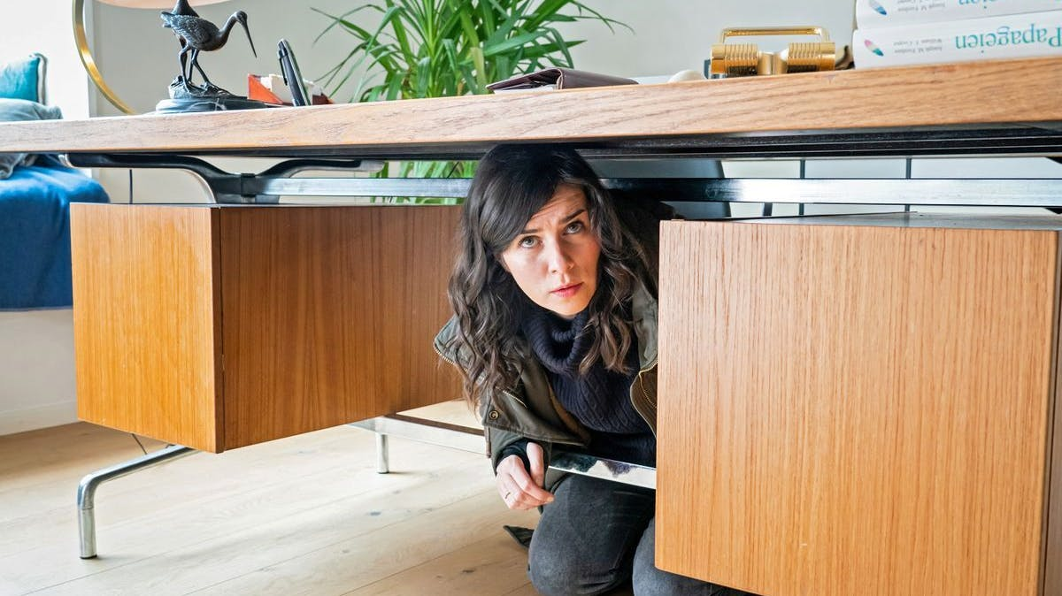 Mittelmässiges Versteck: Kira Dorn (Nora Tschirner) ermittelte in der Wohnung Viebrock.