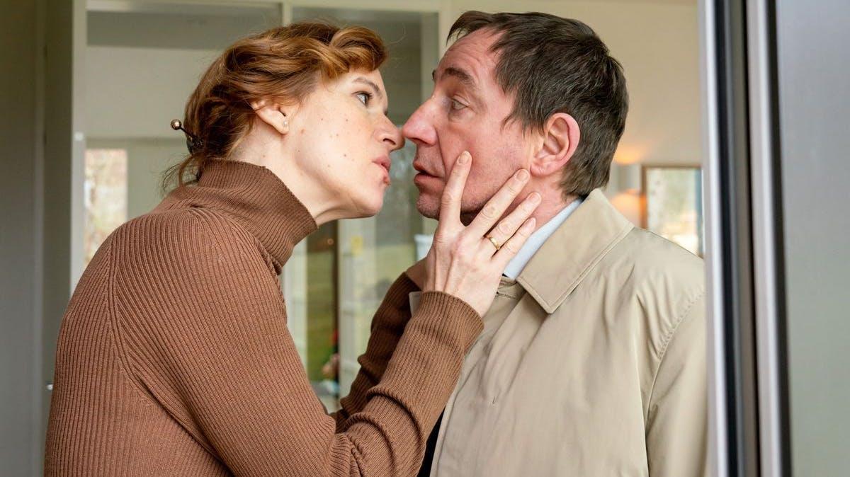Ex-Geliebte des Chefs: Maike Viebrock (Inga Busch) und Kurt Stich (Thorsten Merten) konnten nicht voneinander lassen.
