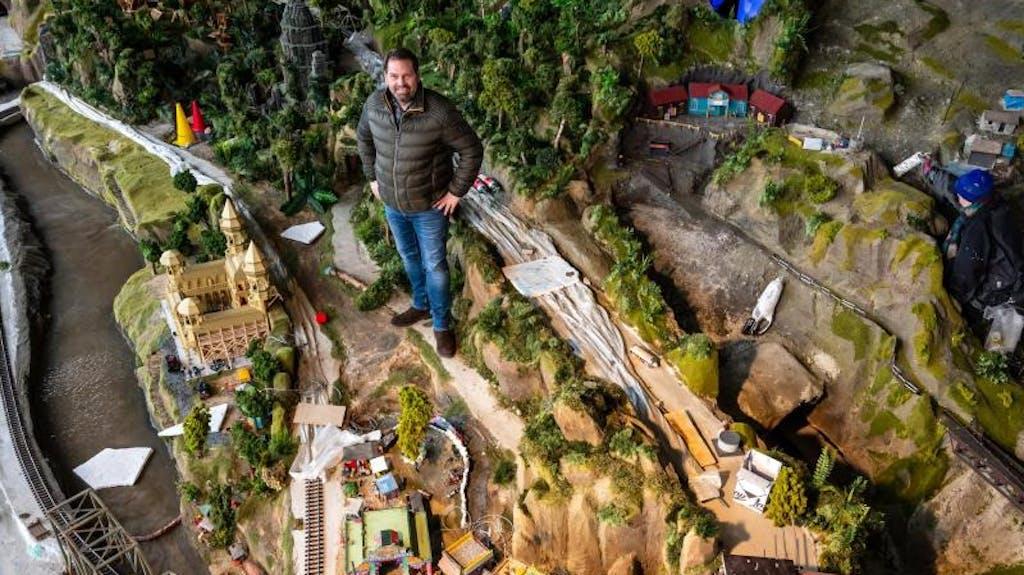 Die Längste Modelleisenbahn Der Welt