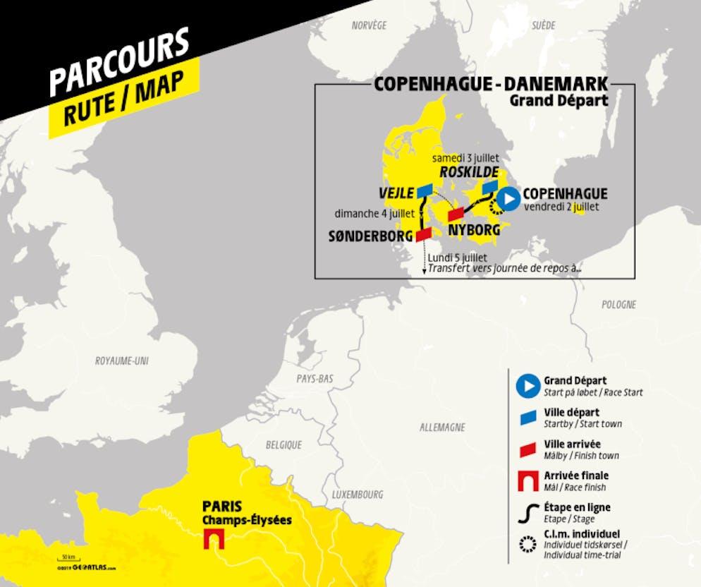 Tour De France App 2021