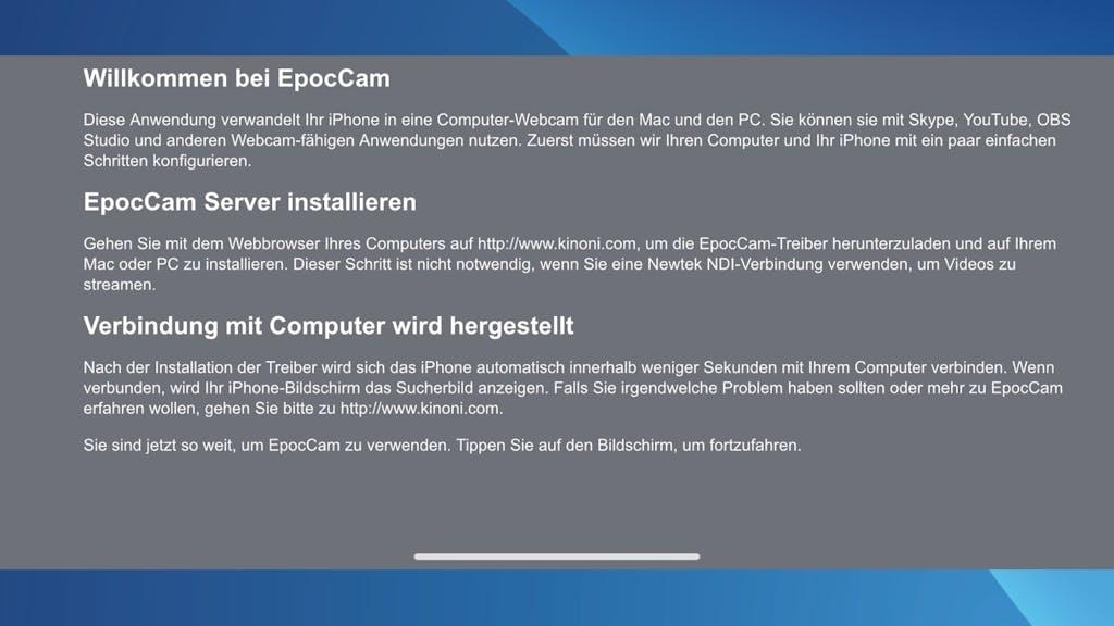 handy kamera als webcam pc