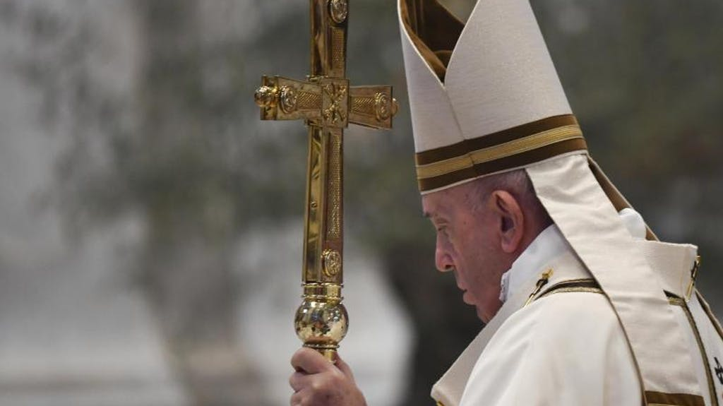 Papst Zu Corona