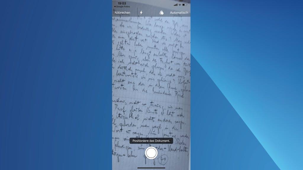 Iphone Dokument Scannen