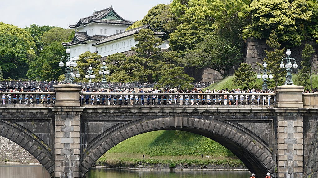 Garten In Japans Kaiserpalast Offnen Wieder