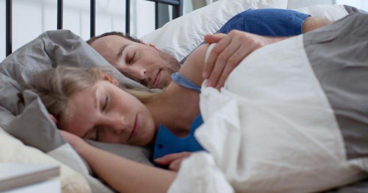 Lesbensex Beim Schlafen