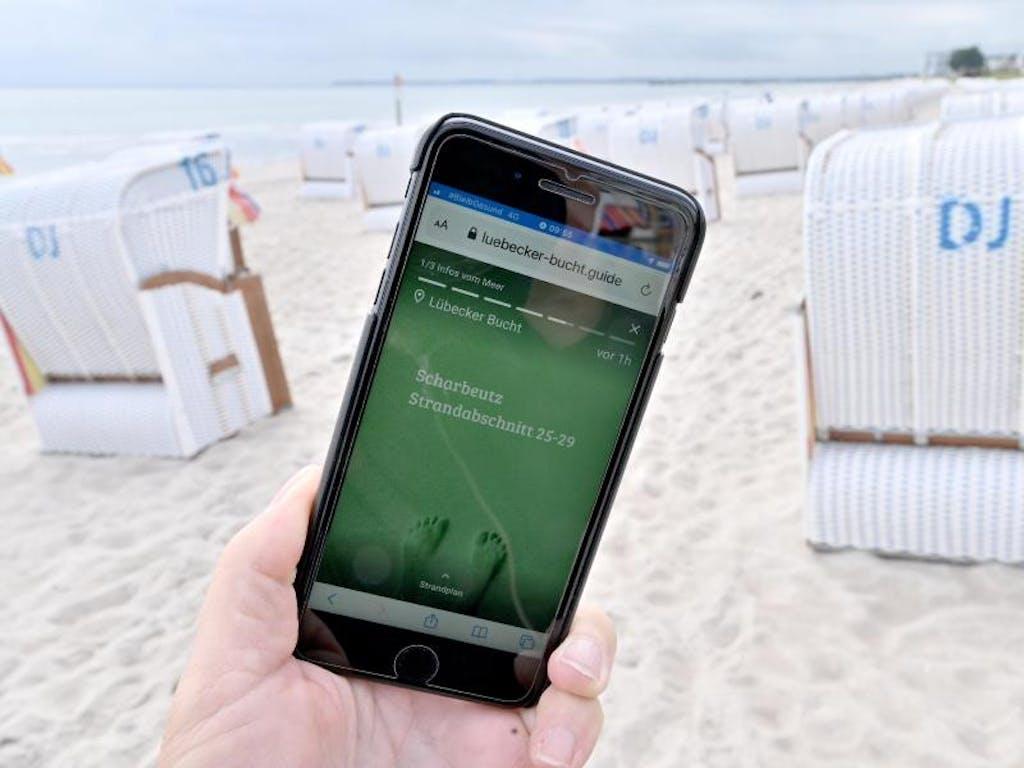 Strand Ampel App