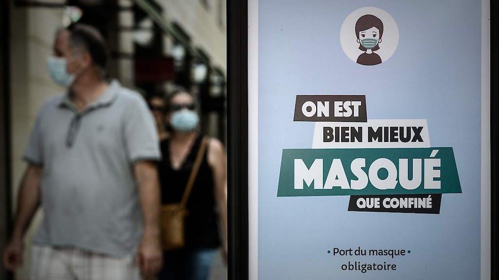 Maskenpflicht In Frankreich