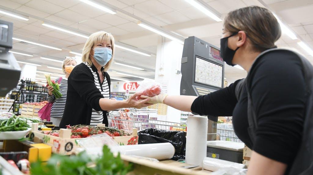 Maskenpflicht Deutschland Einkaufen