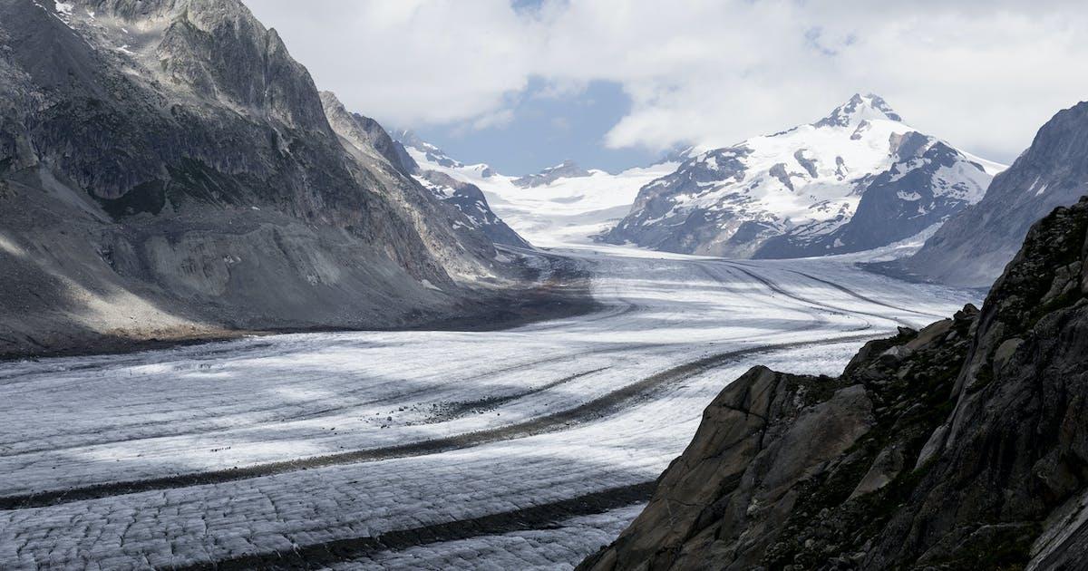 Gletscher Kreuzworträtsel