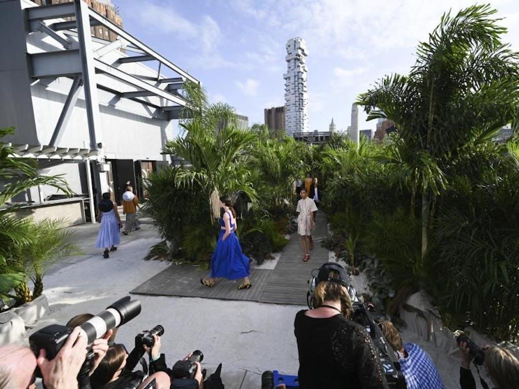 new yorker fashion week unter corona-bedingungen gestartet