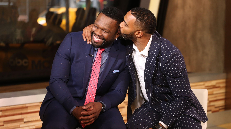 Obwohl sie in der Serie zu Gegenspielern werden, sind Omari Hardwick und Curtis Jackson im echten Leben natürlich keine Feinde.