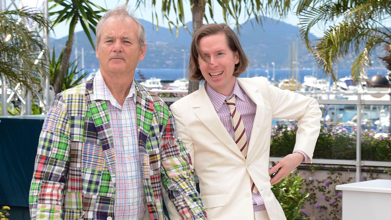 Unzertrennlich: Bill Murray ist ein Lieblingskollege von Wes Anderson (rechts), der Kult-Schauspieler arbeitet öfters mit dem Regisseur zusammen.