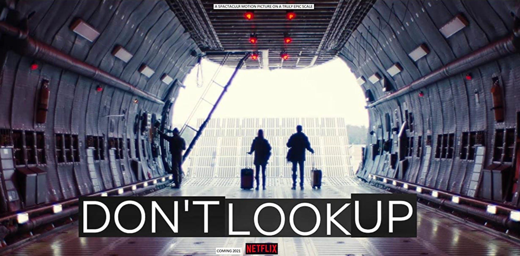 Der Film dreht sich um zwei Astronomen, die auf eine grosse Pressetour geschickt werden, um die Menschen vor einem gefährlichen Asteroiden zu warnen, der die Erde zerstören könnte.