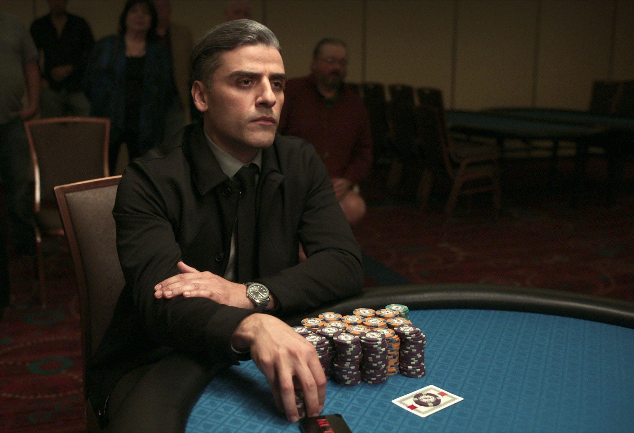 Oscar Isaac in einer Szene aus «The Card Counter»- Auch dieser Film läuft bei den  Filmfestspielen von Venedig im Wettbewerb.