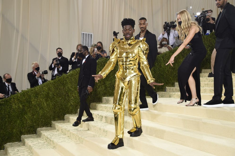 Lil Nas X attends The Metropolitan Museum of Art's Costume Institute benefit gala celebrating the opening of the