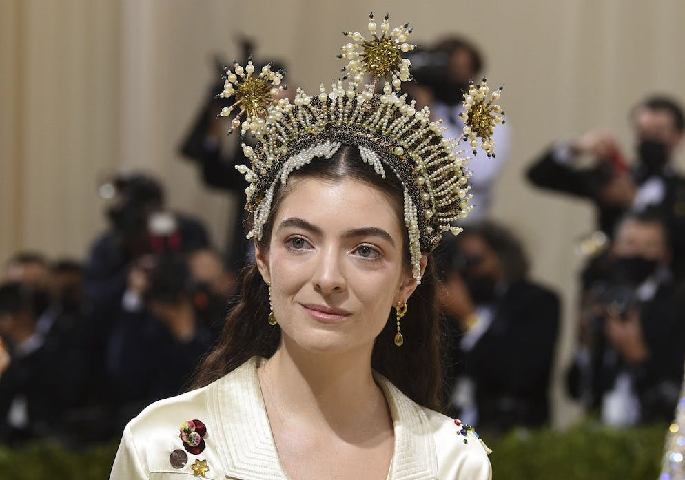 Lorde attends The Metropolitan Museum of Art's Costume Institute benefit gala celebrating the opening of the