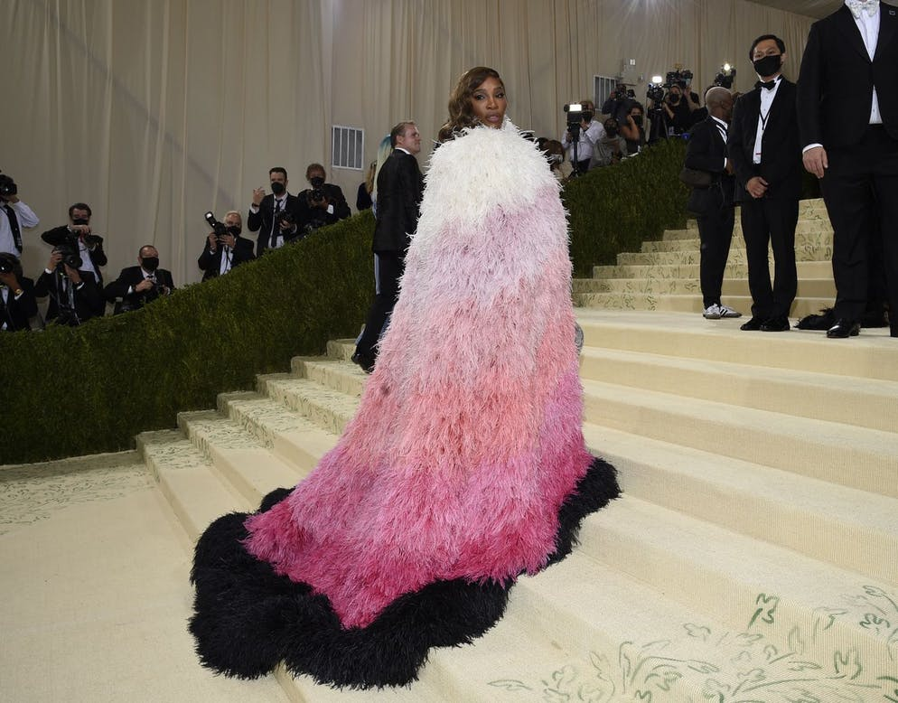 Serena Williams attends The Metropolitan Museum of Art's Costume Institute benefit gala celebrating the opening of the