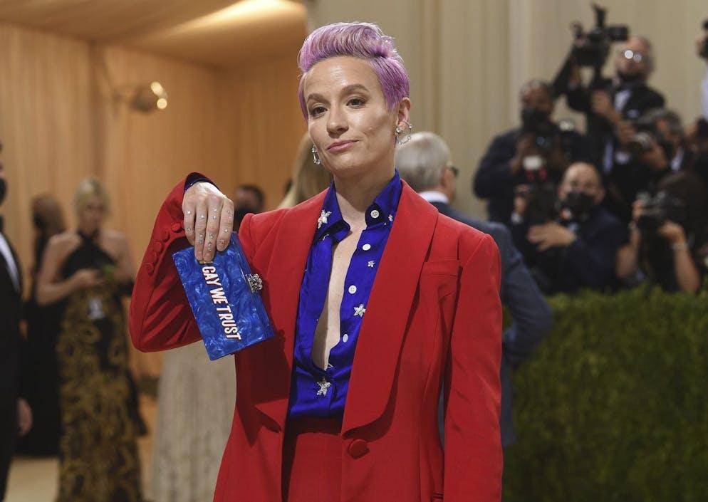 Megan Rapinoe attends The Metropolitan Museum of Art's Costume Institute benefit gala celebrating the opening of the