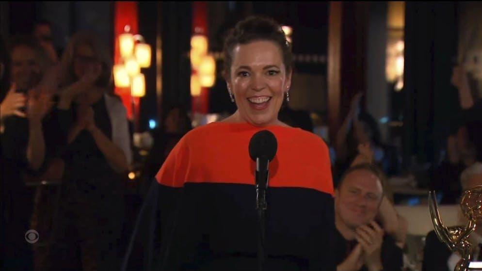 Olivia Colman, qui interprète la reine Elizabeht dans la série
