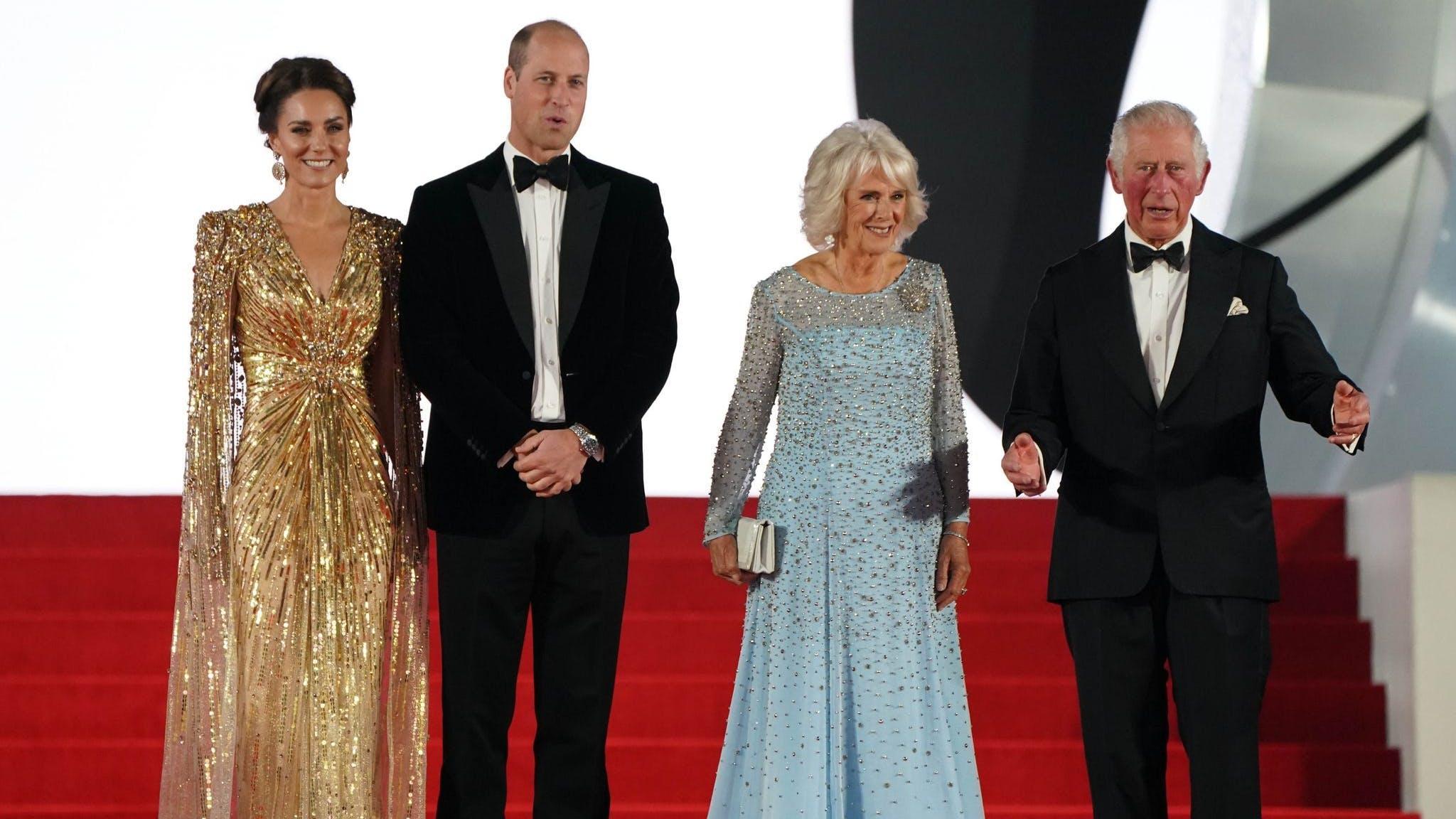 Die Royals liessen es sich nicht nehmen und kamen zur Premiere des Films.