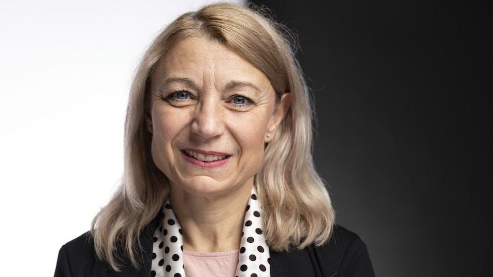 Yvonne Feri, Nationalraetin SP-AG, portraitiert am 5. Dezember 2019 in Bern. (KEYSTONE/Gaetan Bally)