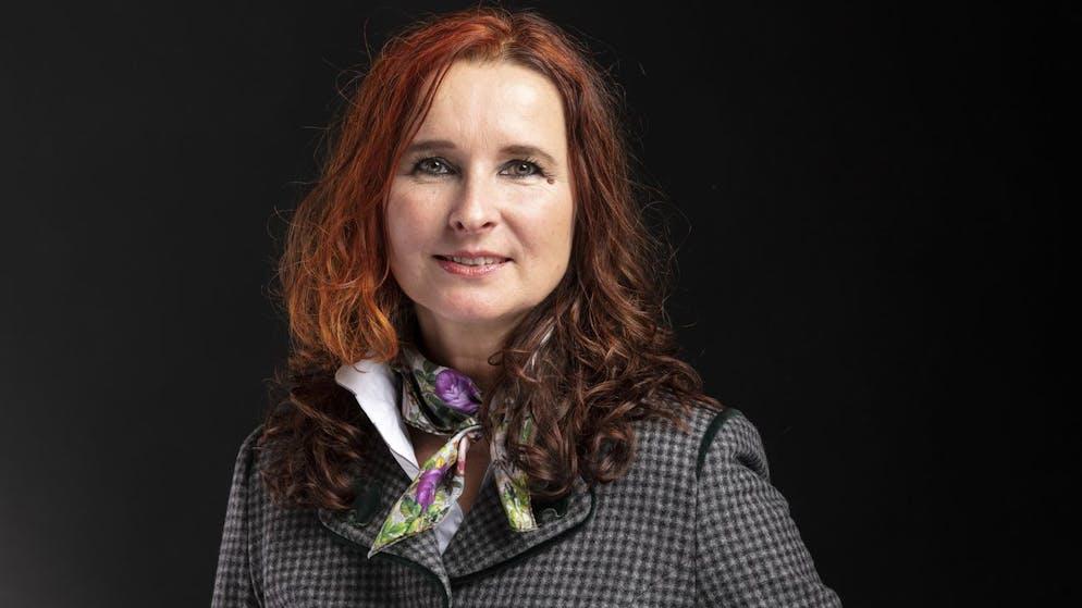 Yvette Estermann, Nationalraetin SVP-LU, portraitiert am 16. Dezember 2019 in Bern. (KEYSTONE/Gaetan Bally)