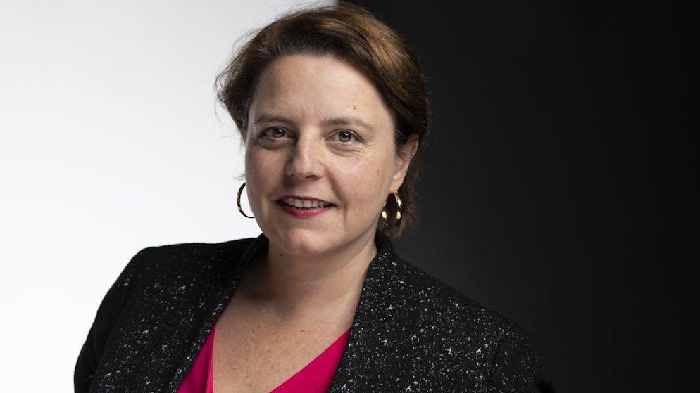 Ada Marra, Nationalraetin SP-VD, portraitiert am 10. Dezember 2019 in Bern. (KEYSTONE/Gaetan Bally)