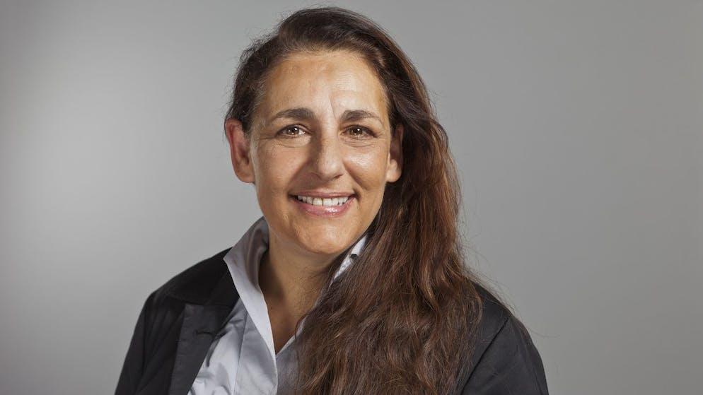 Portrait von Jacqueline Badran, Unternehmerin aus Zuerich, Nationalraetin der SP des Kantons Zuerich, aufgenommen am 12. Dezember 2011 in Bern. (KEYSTONE/Gaetan Bally)