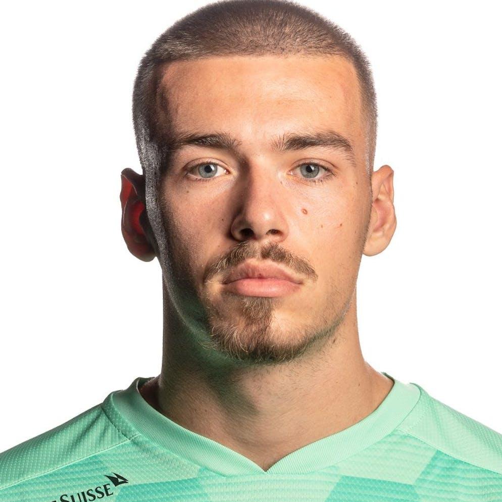 Anthony Racioppi, Spielerder Schweizer U21 Fussball Nationalmannschaft, am Dienstag, 10. November 2020, in Thun. (KEYSTONE/SFV/Peter Schneider)