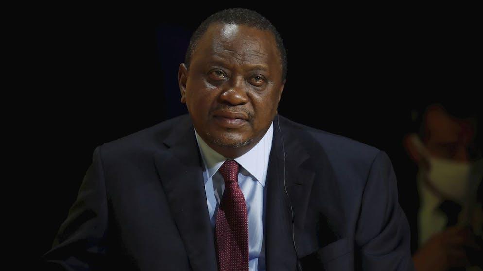 FILE - Kenya's President Uhuru Kenyatta attends the annual tech conference