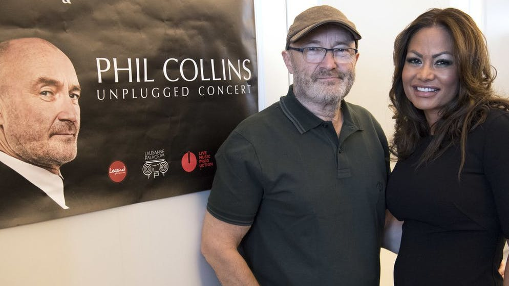Phil Collins Collins and Cevey were married from 1999 to 2009 but got back together after their divorce in 2016.