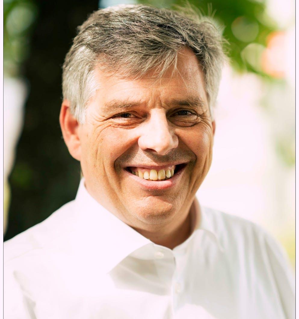 Harald Süker, Porträt, Ex-Mc-Donalds Manager und Buchautor