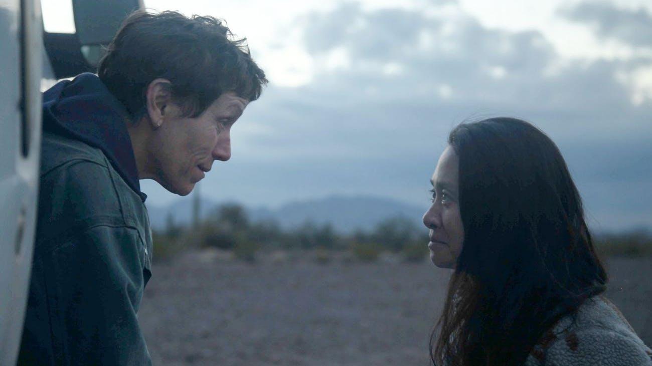 Beste Regie: Chloe Zhao (r.), «Nomadland»
