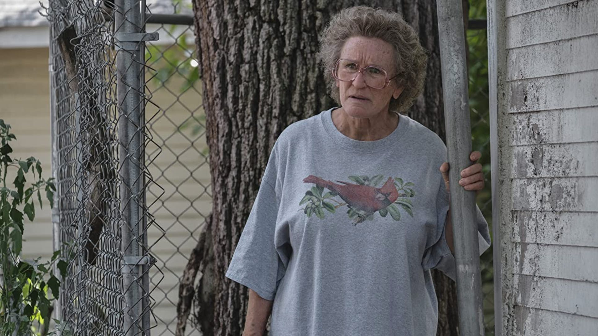 Wuschliger Kopf und das bekannte Glenn-Close-Starren: Die Schauspielerin wurde für ihre Rolle einer Grossmutter in «Hillbilly Elegy» für einen Oscar und für eine Goldene Himbeere nominiert.