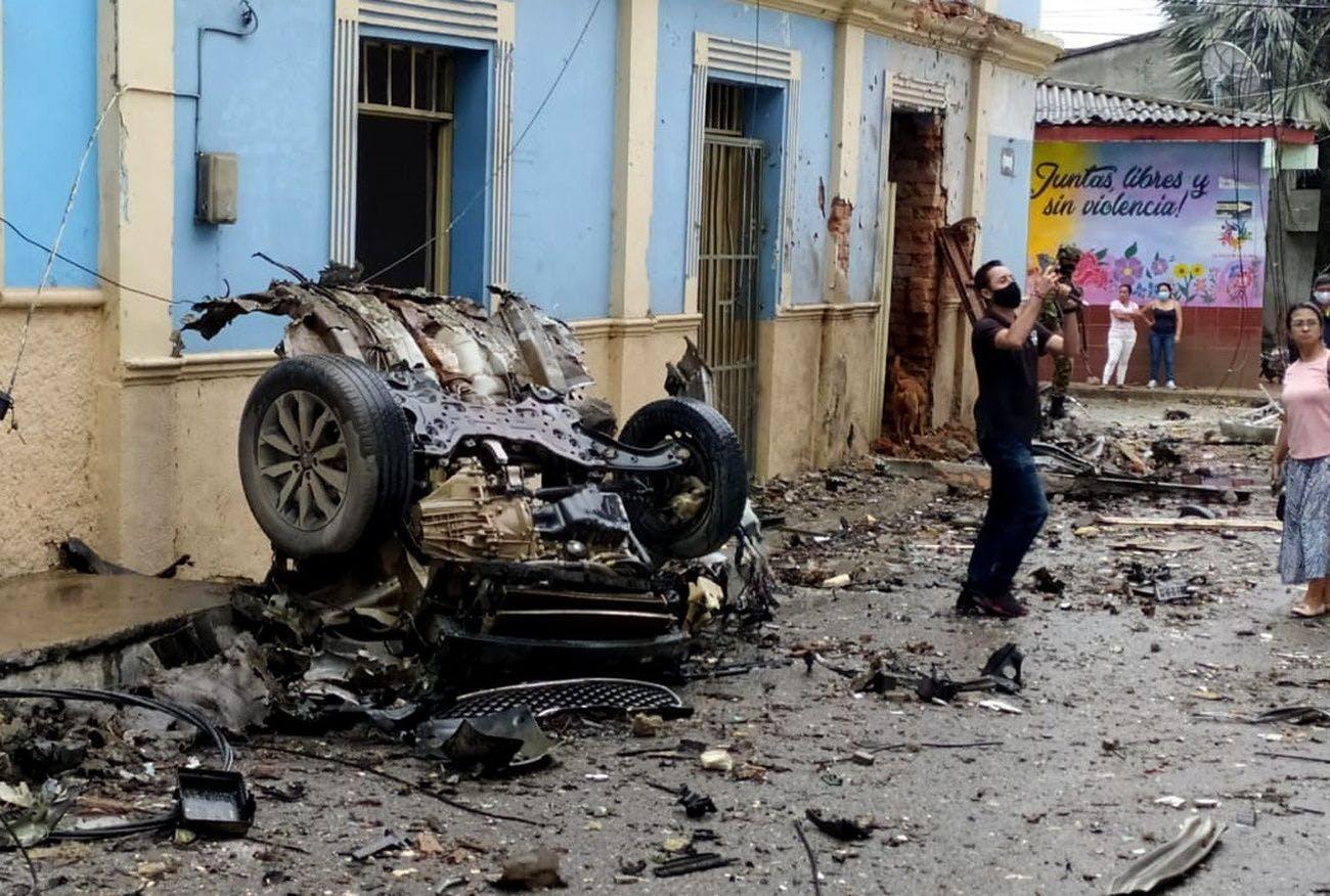 Un attentat à la voiture piégée fait 43 blessés à Corinto