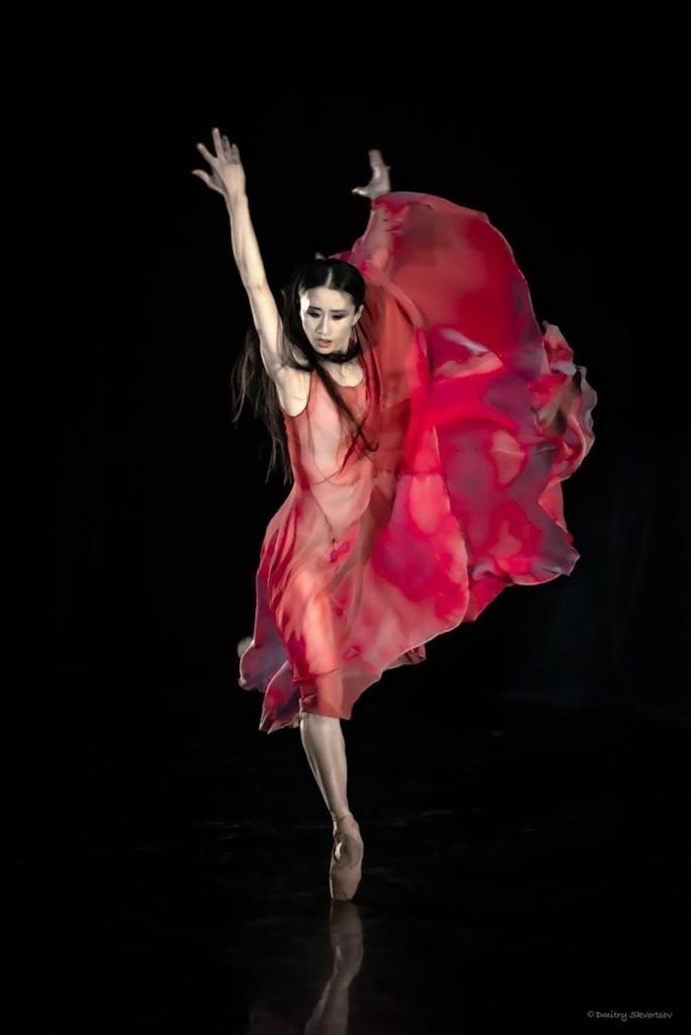 Yen Han Balletttänzerin, Ballerina