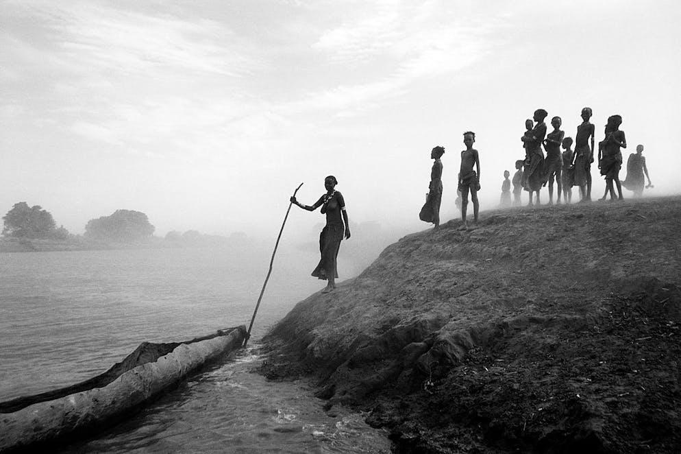 Hilary Hurt, lauréate de la Galerie Merit (Kenya) Image: Tempête de poussière sur la rivière Omo, Ethiopie.