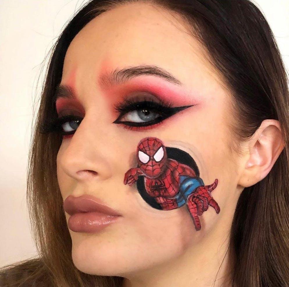 Quand un super-héros vous sort de la pommette...
