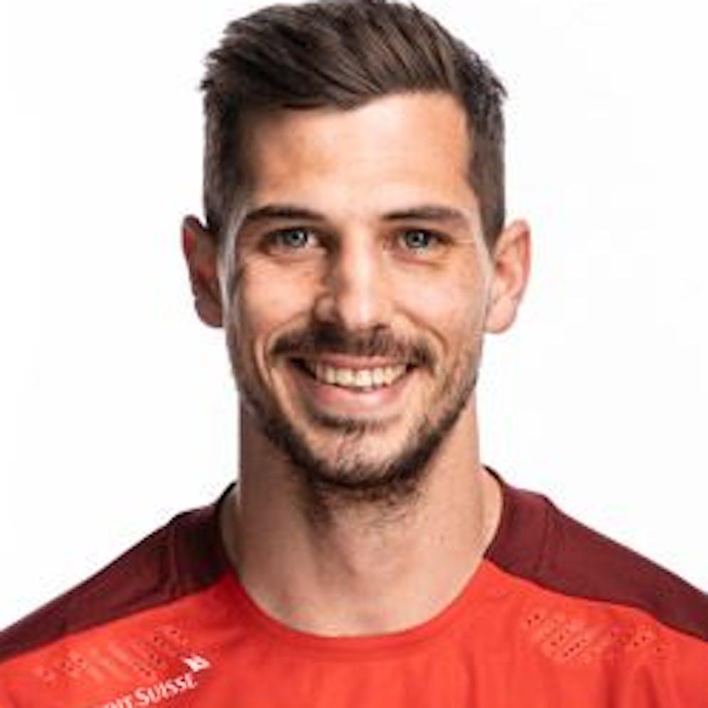Portrait von Remo Freuler, der Schweizer Fussballnationalmannschaft, aufgenommen am 22. Maerz 2021 in Abtwil (SG). (KEYSTONE/Gaetan Bally)