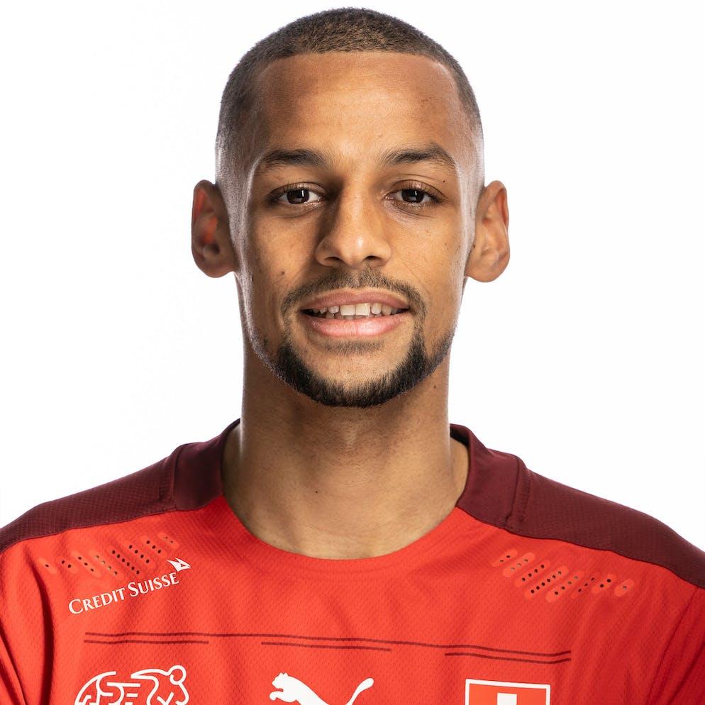 Portrait von Djibril Sow, der Schweizer Fussballnationalmannschaft, aufgenommen am 22. Maerz 2021 in Abtwil (SG). (KEYSTONE/Gaetan Bally)