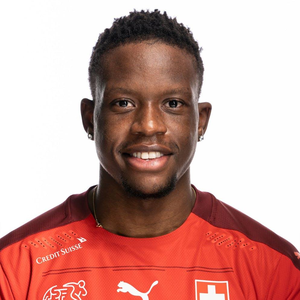 Portrait von Denis Zakaria, der Schweizer Fussballnationalmannschaft, aufgenommen am 22. Maerz 2021 in Abtwil (SG). (KEYSTONE/Gaetan Bally)