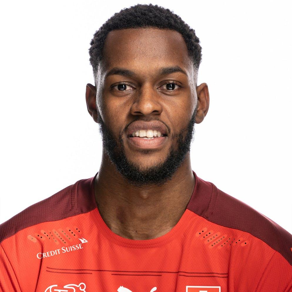 Portrait von Edimilson Fernandes, der Schweizer Fussballnationalmannschaft, aufgenommen am 22. Maerz 2021 in Abtwil (SG). (KEYSTONE/Gaetan Bally)