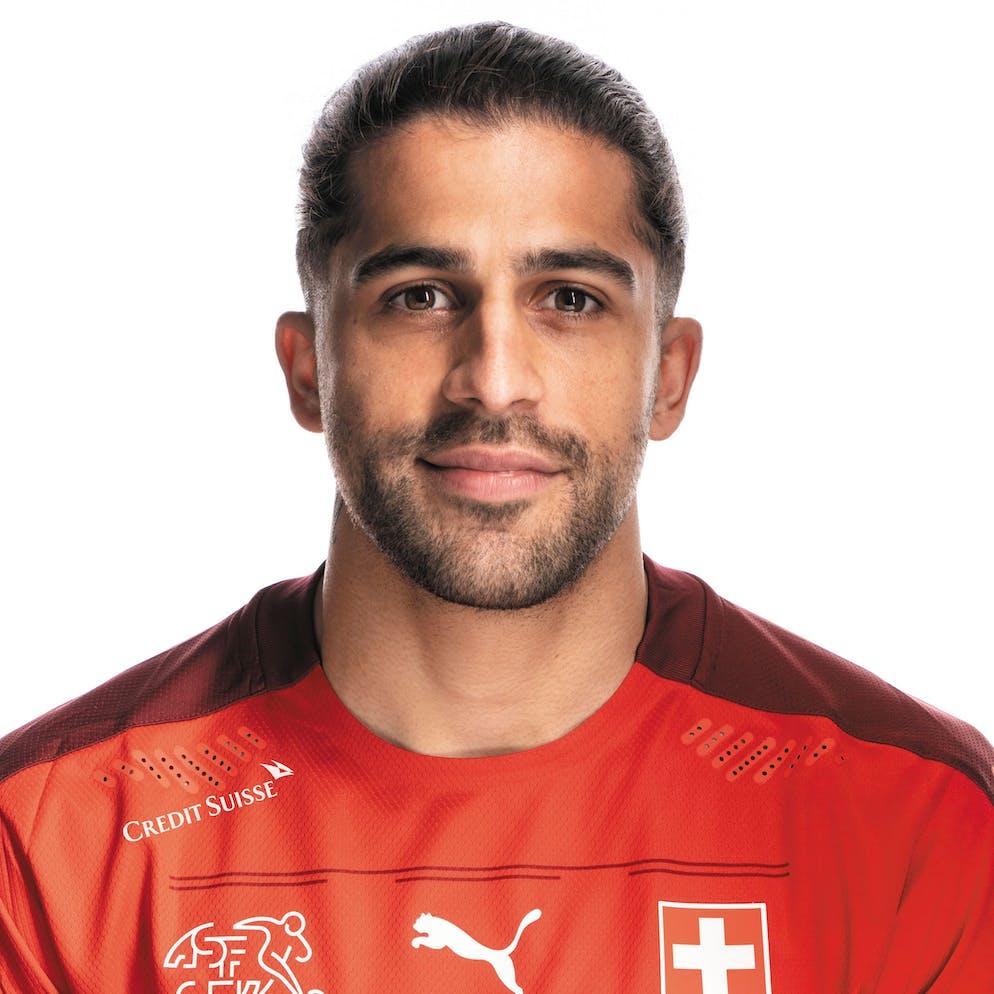 Portrait von Ricardo Rodriguez, der Schweizer Fussballnationalmannschaft, aufgenommen am 22. Maerz 2021 in Abtwil (SG). (KEYSTONE/Gaetan Bally)